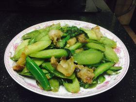 虾酱炒芥兰