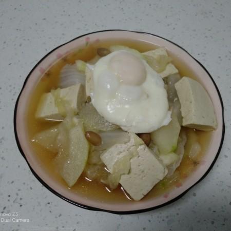 豆腐冬瓜卧蛋