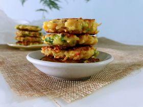 土豆蔬菜饼