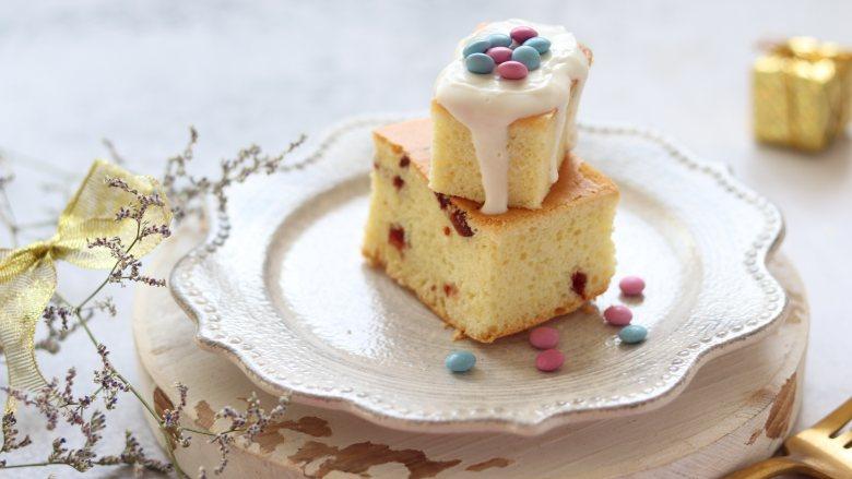 椰蓉戚风蛋糕