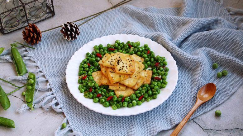豌豆鲜鸡汁烧豆腐