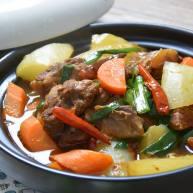 红烧牛腩炖萝卜—入冬了,来上这一锅马上让你整个人都暖起来