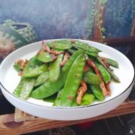 肉炒荷兰豆