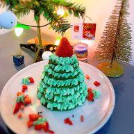 圣诞树松饼