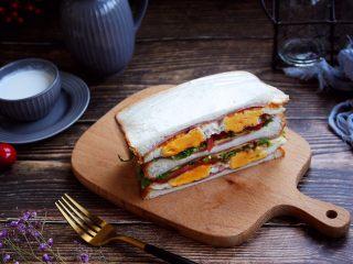 三明治,成品图。