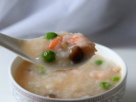 超级鲜美的海鲜粥