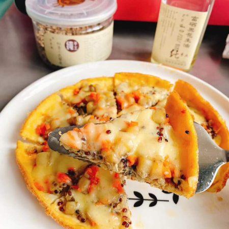 藜麦水果披萨
