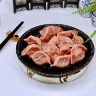 白菜海虹肉丁饺子