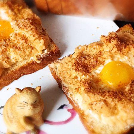 快速早餐吐司片-鸡蛋味