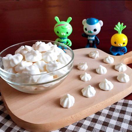 宝宝健康食谱  原味蛋白糖
