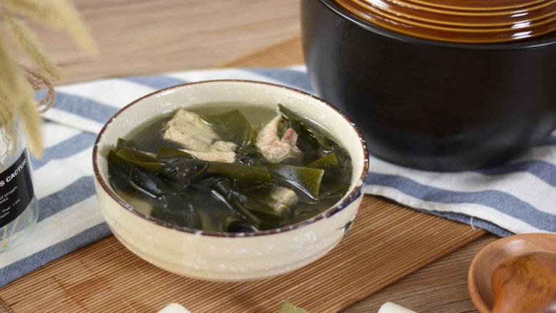排骨海带汤,清淡有营养,还有淡淡的大海的味道