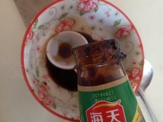 腐皮金针菇卷,蚝油