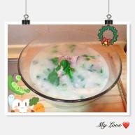 小排骨鸡毛菜汤—冬日必备👍