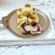 爆浆紫薯仙豆糕