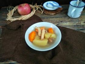 响螺肉苹果汤