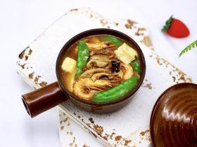 六鲜菌菇海鲜豆腐什锦汤