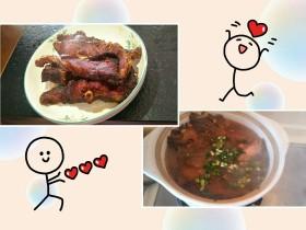 青鱼de一鱼两吃(上海熏鱼+红鱼头汤)