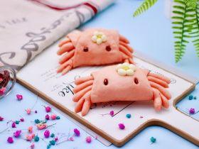 花样小螃蟹馒头