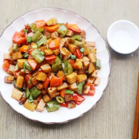 超下饭的双椒杏鲍菇