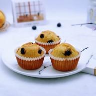 新手入门级~蓝莓椰蓉马芬蛋糕