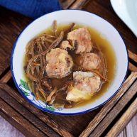 排骨茶树菇汤