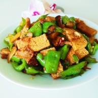 北京特色菜 红烧冻豆腐