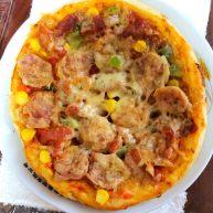 奥尔良烤肉培根披萨