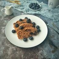 蓝莓红糖糕