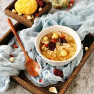 百合红枣糯耳莲子汤