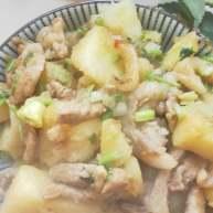 超级下饭的土豆炖猪肉----家里宝宝超级喜欢吃
