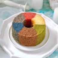 彩虹戚风蛋糕