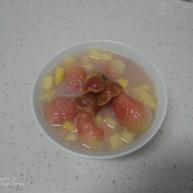山楂苹果草莓汤