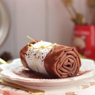 巧克力毛巾卷