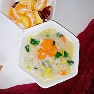 胡萝卜瘦肉粥(快手)