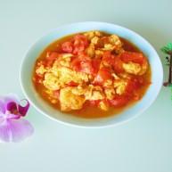 番茄炒蛋  新文美食