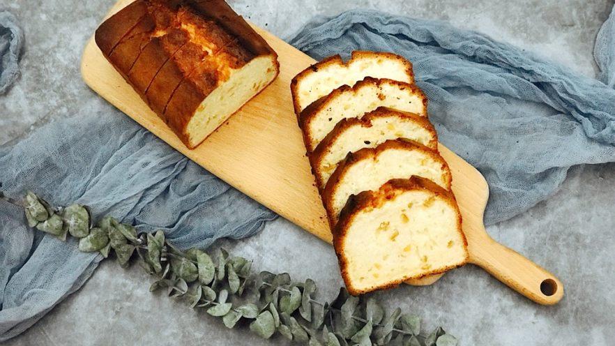 0黄油酸甜香橙磅蛋糕