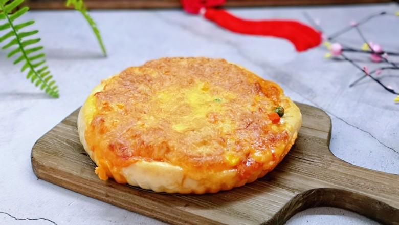披萨新吃法~奥尔良鸡丁披萨