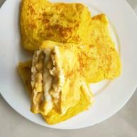 "<span style=""color:red"">简单</span>好吃又减肥的早餐||宝宝的最爱-----香蕉牛奶煎土司"