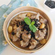 茶食之豆豉蒸排骨