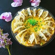 蛋包饺子  新文美食