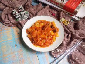 泡菜培根炒年糕