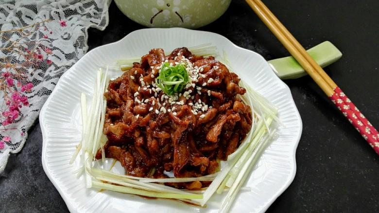 #猪里脊#京酱肉丝