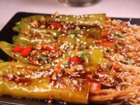 青椒金针菇