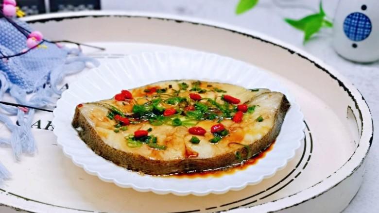 清蒸比目鱼~营养又健康