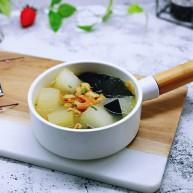 虾干海带冬瓜汤