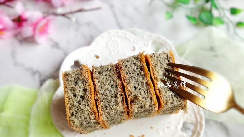 黑米海绵蛋糕