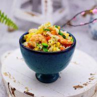 补钙又营养的虾仁豆芽蛋炒饭
