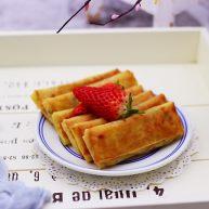土豆絲紅椒煎春卷