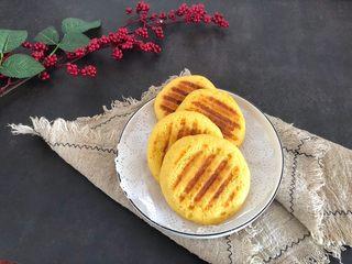 香甜松软玉米饼