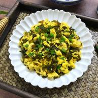 地皮菜炒鸡蛋